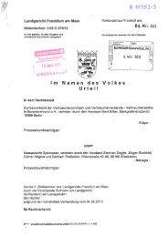 Urteil Nassauische Sparkasse, LG Frankfurt a. M. vom 06.03 ... - vzbv