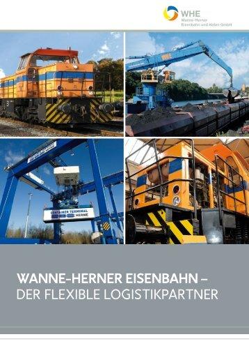 WHE Imagebroschüre 2013 - Wanne-Herner Eisenbahn und Hafen ...
