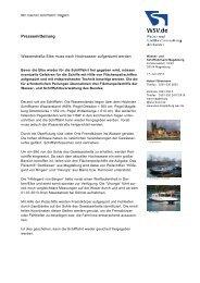 Pressemitteilung - Wasser- und Schifffahrtsverwaltung des Bundes