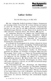 Lothar Geitler 80