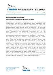 Pressemitteilung - alt.nabu-sachsen.de
