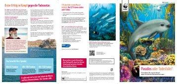 Paradies oder Todesfalle? - WWF Schweiz