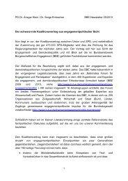 Der schwarz-rote Koalitionsvertrag aus ... - BBE