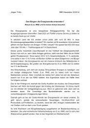 Jürgen Trittin BBE-Newsletter 02/2014 Den Bürgern die ...