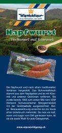 Napfwurst - Ap-backoffice.ch