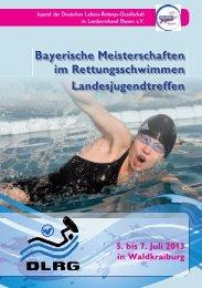 Programmheft - DLRG-Jugend Bayern
