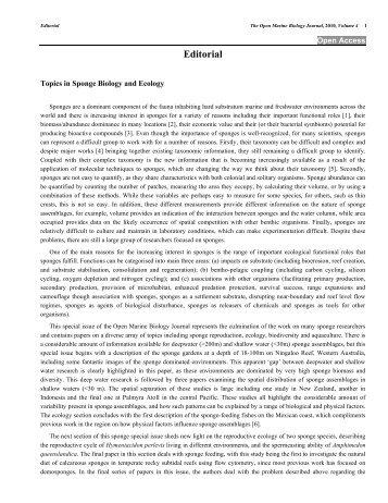 Editorial - Bentham Science