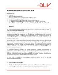 Nominierungsrichtlinien 2006 - Deutscher Leichtathletik-Verband