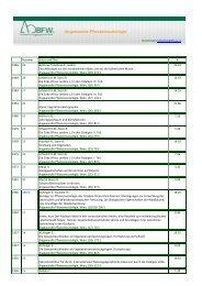Angewandte Pflanzensoziologie - BFW