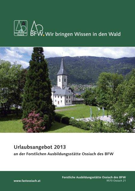 Urlaubsangebot 2013.pdf - BFW