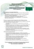 Basisausbildung zum Anoplophora-Spürhunde-Team - BFW - Page 2