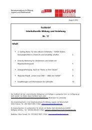 Fachbrief Interkulturelle Bildung und Erziehung Nr. 17