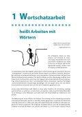 3 Wortschatzarbeit im Deutschunterricht - Bildungsserver Berlin ... - Page 3