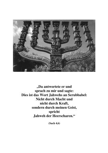 Eschatologie (1) - (PDF)