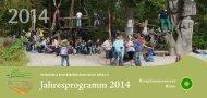 Jahresprogramm 2014 - Biosphärenreservat Rhön