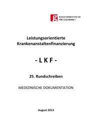 25. LKF Rundschreiben 20130806 - Bundesministerium für ...