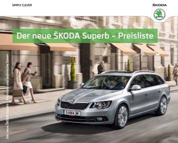 Superb: Preisliste & Technische Daten - Motorline.cc
