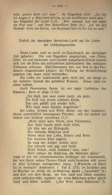 Carlo Goldoni auf dem deutschen Theater des 18. Jahrhunderts
