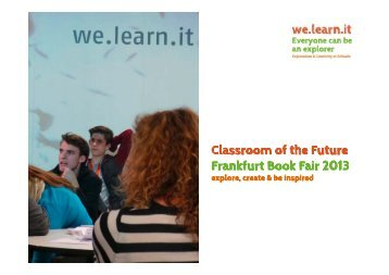 We.learn.it. in Frankfurt 2013 - Frankfurter Buchmesse