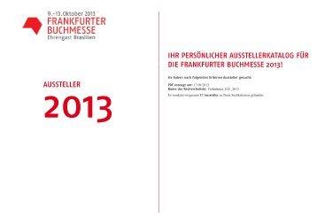 Liste der Aussteller im ILC und der Business Lounge 2013