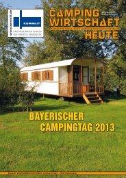 BAYERISCHER CAMPINGTAG 2013 - Campingwirtschaft