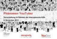 Phänomen YouTuber - YouGov