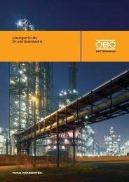 Lösungen für die Öl- und Gasindustrie - OBO Bettermann
