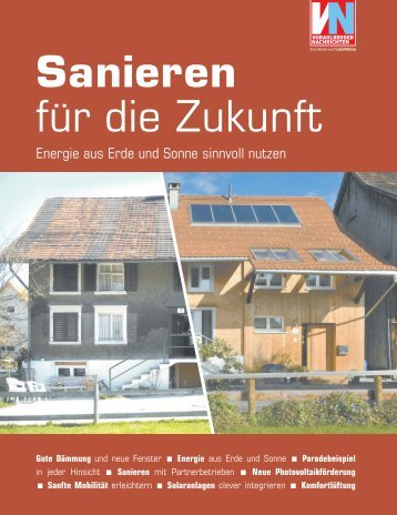 Sanieren für die Zukunft - Vorarlberg Online