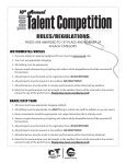 Teen Talent Competition Registration Form 2014 ... - City of Chandler - Page 2