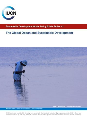 IUCN Policy Brief Oceans SDGs Jan