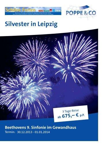 Silvester in Leipzig - Columbus Reisen