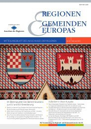 REGIONEN GEMEINDEN EUROPAS