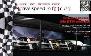{have speed in f[ ]cus!} DTM History