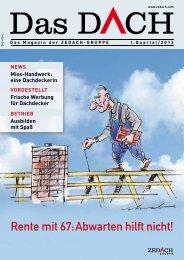 Rente mit 67: abwarten hilft nicht! - DEG Alles für das Dach eG