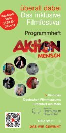 Programmheft - Deutsches Filminstitut