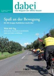 Spaß an der Bewegung - DMSG Landesverband Hessen eV