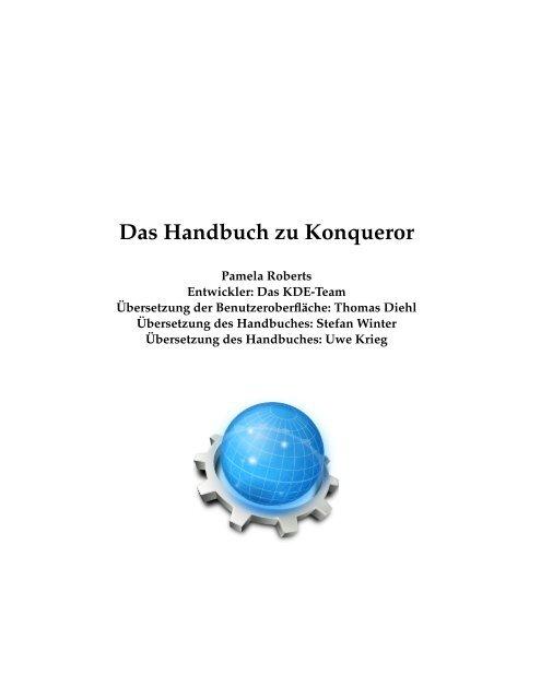 Das Handbuch zu Konqueror - KDE Documentation