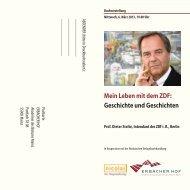 Mein Leben mit dem ZDF: Geschichte und Geschichten - Bistum Mainz