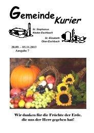 Gemeinde Kurier - Bistum Mainz