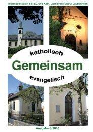 Gemeinsam 3-2013 - Bistum Mainz