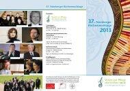 37. Nürnberger Kirchenmusiktage