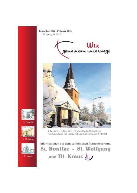 St. Wolfgang und Hl. Kreuz - Erzbistum Bamberg