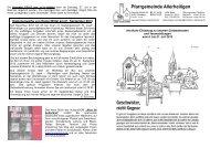 Pfarrgemeinde Allerheiligen - Erzbistum Bamberg