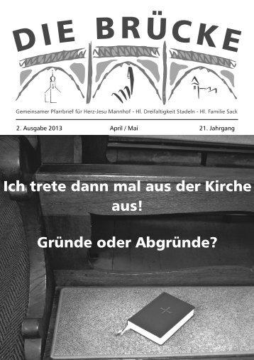 Ich trete dann mal aus der Kirche aus! - Erzbistum Bamberg