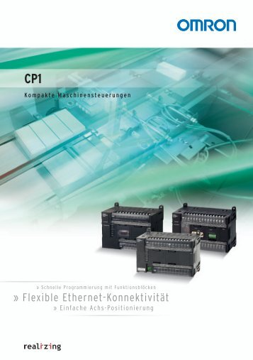 Flexible Ethernet-Konnektivität - Omron Europe