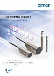 E2B Induktive Sensoren - Omron Europe