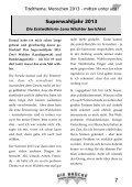 6. Ausgabe 2013/14 Dezember / Januar 21. Jahrgang - Erzbistum ... - Page 7