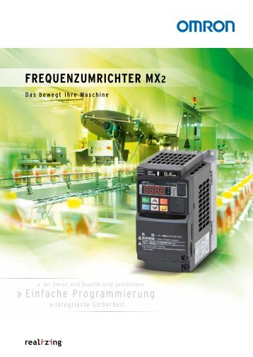 Frequenzumrichter mX2 - Omron Europe