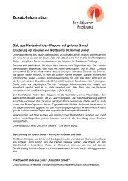 Insignien Weihbischof Gerber.pdf - Erzbistum Freiburg