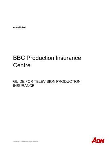 BBC Production Insurance Centre